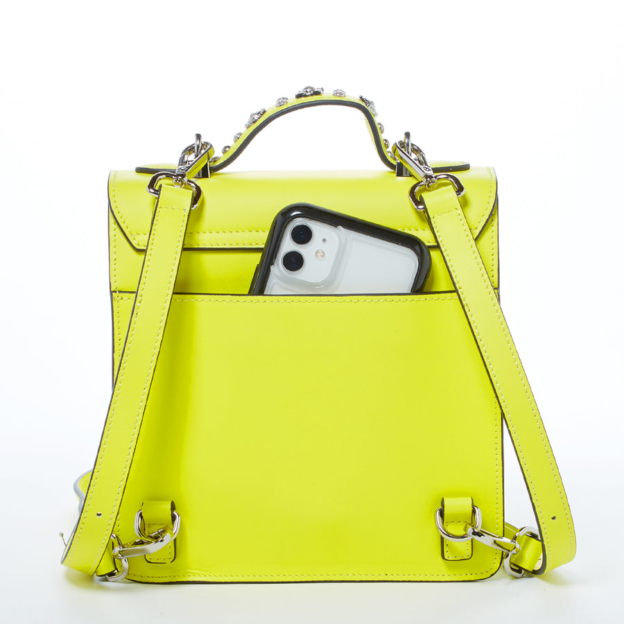 Yellow backpack puse | SUSU Handbags