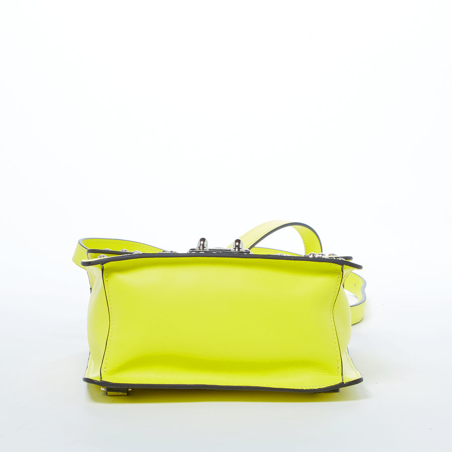 Yellow leather handbag | SUSU Handbags