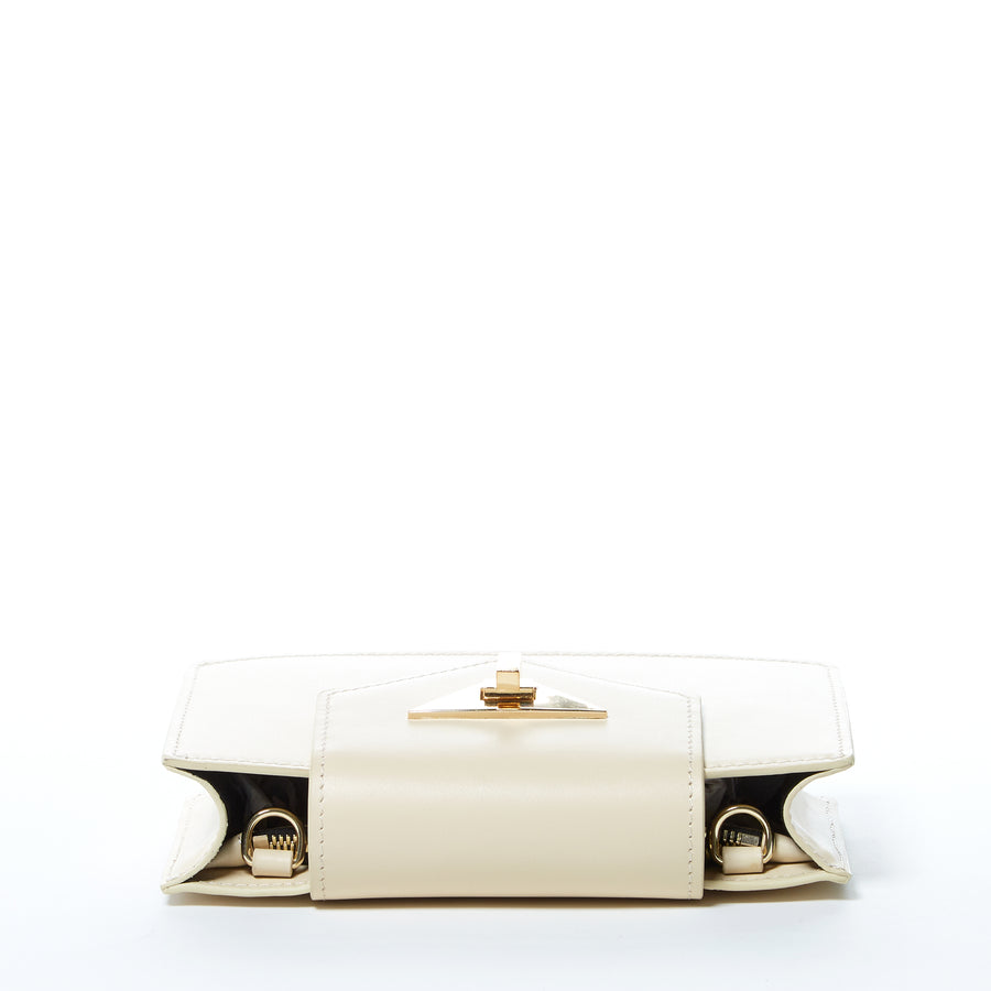 mini off white leather bag | SUSU Handbags