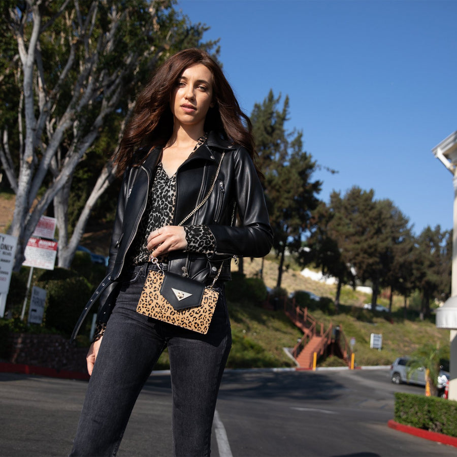 leopard purse | SUSU Handbags