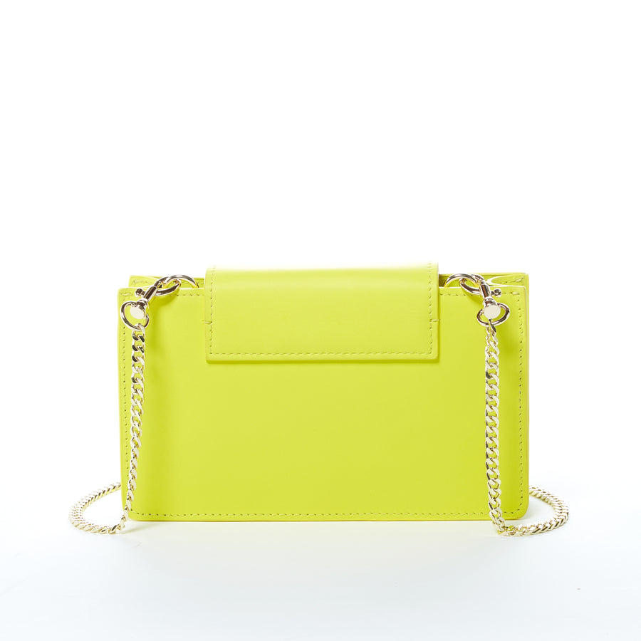 yellow purse leather | SUSU Handbags