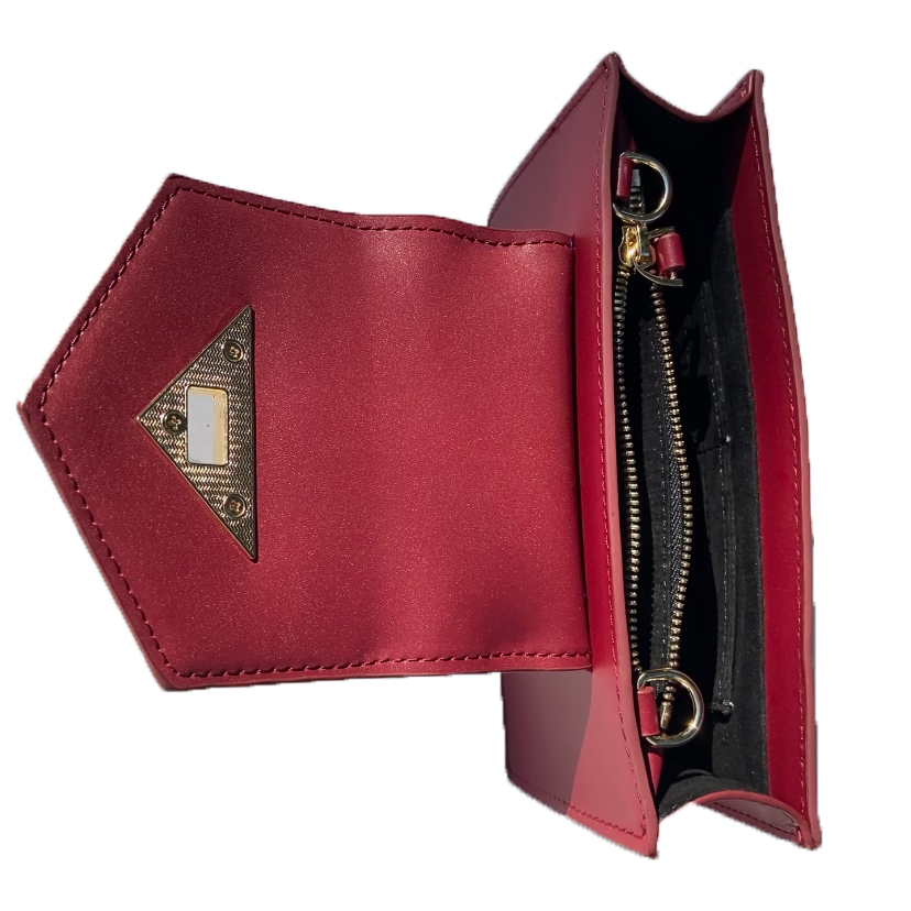 small burgundy purse | SUSU Handbags