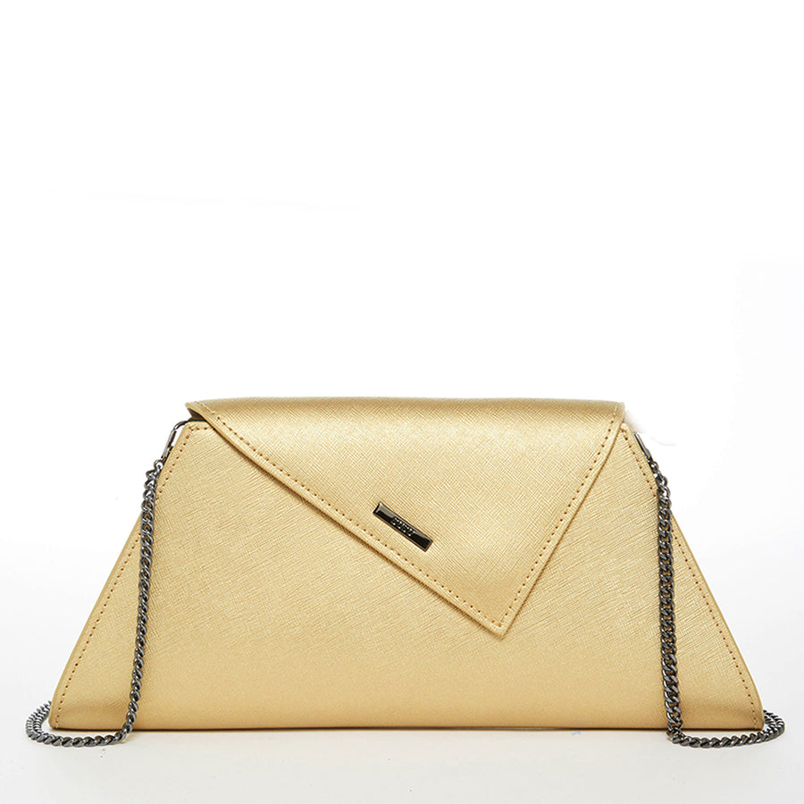 Metallic Gold Clutch Purse | SUSU Handbags