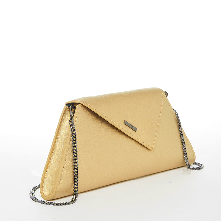 Gold clutch purse  | SUSU Handbags
