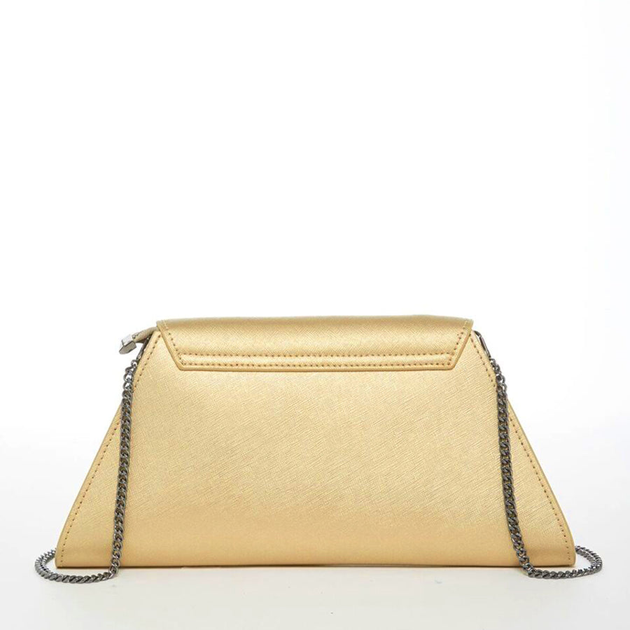 Gold evening clutch  | SUSU Handbags