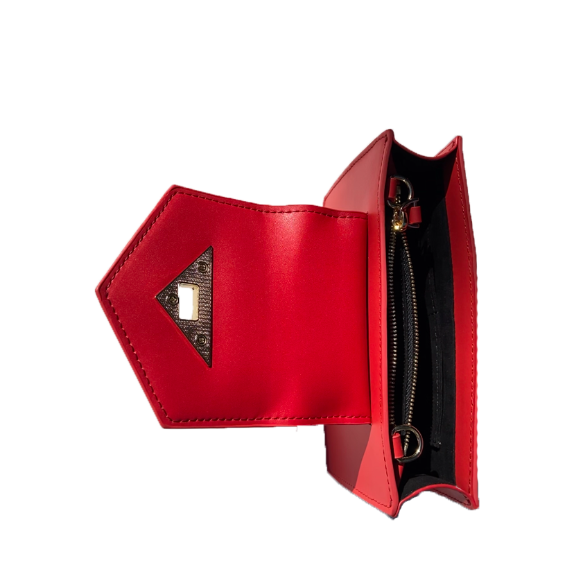 red small handbag | SUSU Handbags