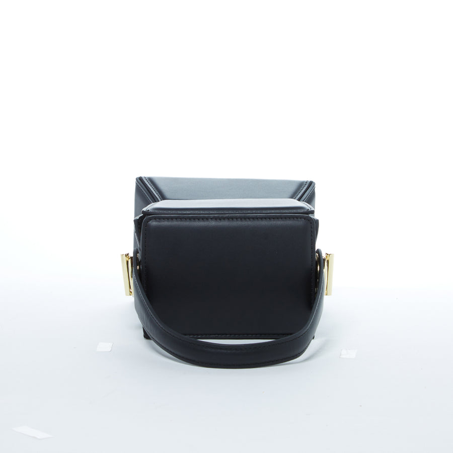 black crossbody bucket bag | SUSU Handbags