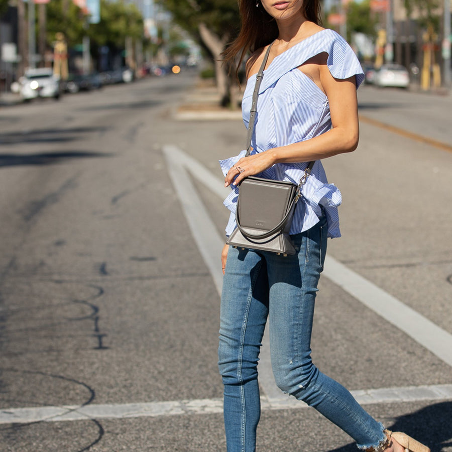 crossbody bucket bag | SUSU Handbags