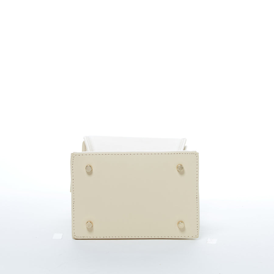 off white leather purse | SUSU Handbags