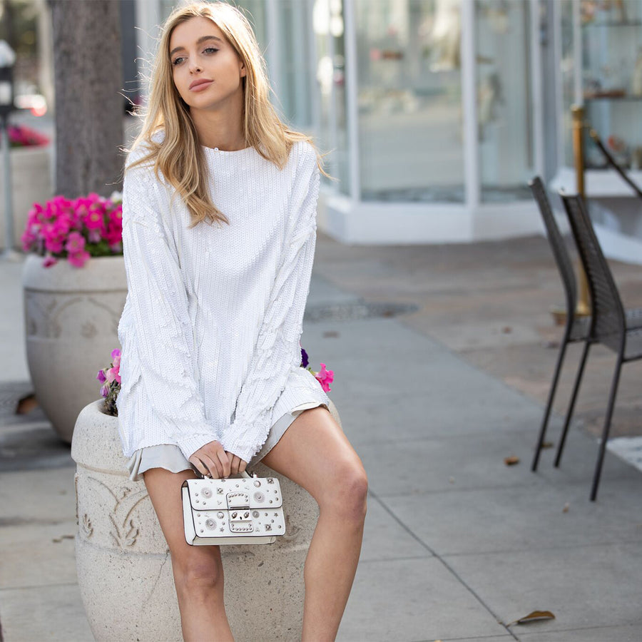 White crossbody | SUSU Handbags