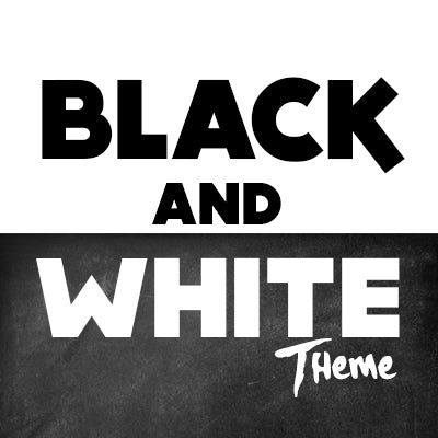 Party THemes Black and White