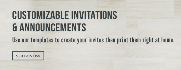 Party THemes invitations-and-announcments
