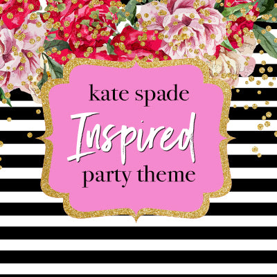 Party THemes Kate Spade Inspired