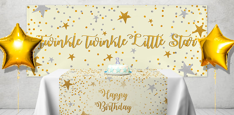 Party THemes Twinkle Twinkle Little Star