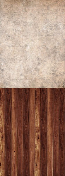 S118 Distress paper Textured Cinnamon Wood Switchover Backdrop