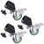 Photography Swivel Caster Wheels for Tripod Light Stand 3 PC  - SCE101 - Backdrop Outlet
