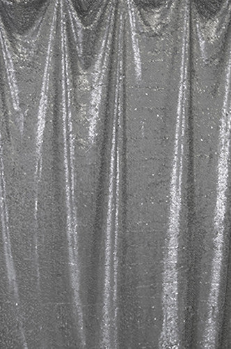 Charcoal Teardrop Sequins Background - AB699 - Backdrop Outlet