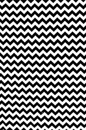 AB855 Poly Pattern Black Fabric 5x9 Chevron Background - Backdrop Outlet