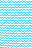 AB863 Poly Pattern Bright Blue Fabric 5x9 Chevron Background - Backdrop Outlet