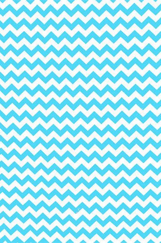 AB863 Poly Pattern Bright Blue 5x9 Chevron Background - Backdrop Outlet - 1