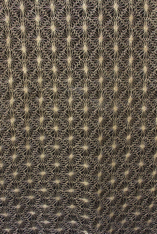 ABMC35 Gold Spiral Pattern Tied Mod Cloth Backdrop - Backdrop Outlet