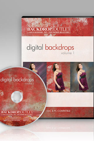DSC101 Mixed Styles Digital Backdrops - Backdrop Outlet