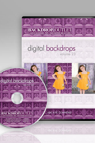 Doors Digital Backdrops CD #23 (Available in CD or Digital Download) - DSC123 - Backdrop Outlet