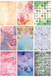 DSC128 Floral Mixed Styles Digital Backdrops - Backdrop Outlet