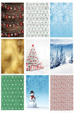 DSC130 Christmas Winter Holiday Digital Backdrops - Backdrop Outlet - 3
