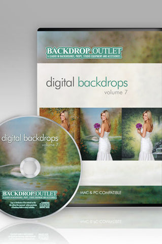 DSC107 Wedding Digital Backdrops - Backdrop Outlet - 1
