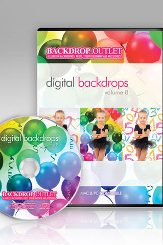 DSC108 Children Digital Backdrops - Backdrop Outlet