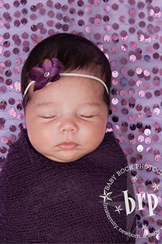 CPW219 Purple Cheesecloth Baby Wrap 3ft x 5ft