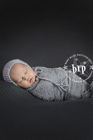 CPW223 Silver Cheesecloth Baby Wrap 3ft x 5ft - Backdrop Outlet