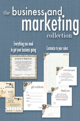 Downloadable Business and Marketing Template Collection - DSD840