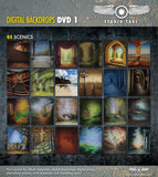 DVD1 Digital Backdrops DVD OVER 200 DIGITAL BACKDROPS (Includes CD 1-9 - Backdrop Outlet