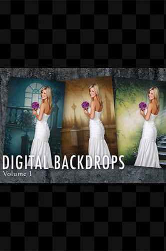 Digital Backdrops DVD OVER 200 DIGITAL BACKDROPS (Includes CD 42744 - DVD1 - Backdrop Outlet