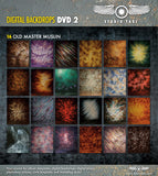 Digital Backdrop DVD #2  Includes CD's 10-18 Great Value - DVD2 (TOTAL 9 CD'S) - Backdrop Outlet