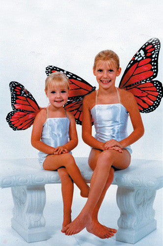 "Small 15"" Feather Butterfly Wings Photo Prop (Multiple Colors Available) - GLBW1 - Backdrop Outlet"