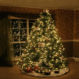 Christmas Tree Window Lights Backdrop - x075 - Backdrop Outlet