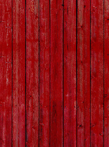 1078 Red Barn Wood Backdrop - Backdrop Outlet