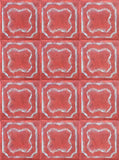 1203 Quatrefoil Desert Tile Backdrop - Backdrop Outlet