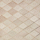 1242 Belgian Cream Tile Backdrop - Backdrop Outlet