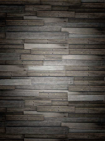 1254 Moody Gray Wood Backdrop - Backdrop Outlet - 5
