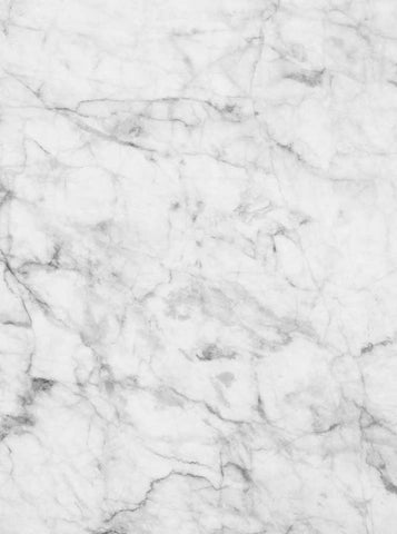 1255 Printed Marble White Backdrop - Backdrop Outlet