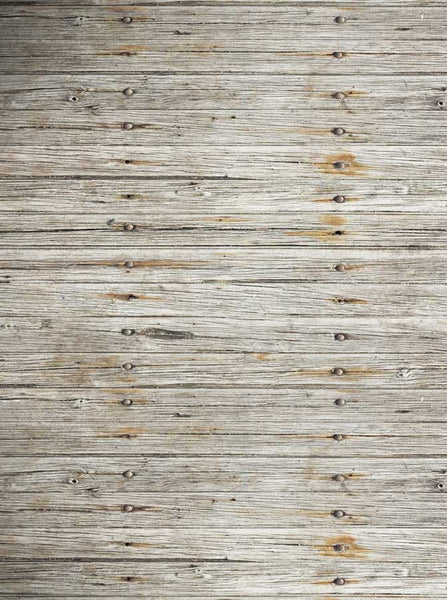 1281 Gray Plank Wood Backdrop - Backdrop Outlet - 1