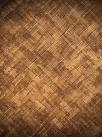 1381 Basket Weave Wood Backdrop - Backdrop Outlet - 1