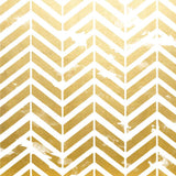1496 Printed Gold Chevron Metallic Backdrop - Backdrop Outlet