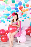 Party Balloons Backdrop - 179 - Backdrop Outlet