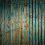 Teal Wood Slat Backdrop - 2118 - Backdrop Outlet