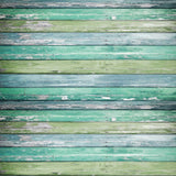 2226 Teal Green Wood Backdrop - Backdrop Outlet